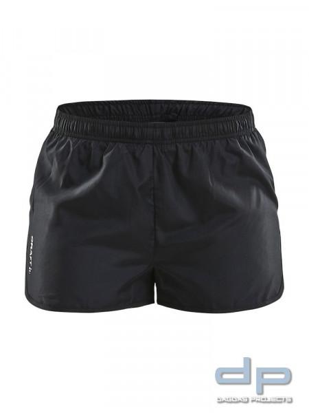 Craft Rush Marathon Shorts für Damen in Schwarz