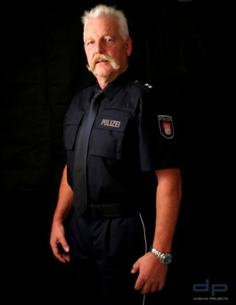 ETZEL Diensthemd Modell Polizei Hessen, langarm