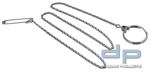 KEY-BAK Schlüsselkette mit Pin 60 cm