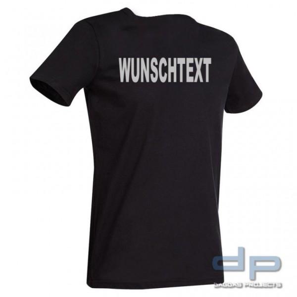 Behörden T-Shirt Slim Fit mit Wunschaufdruck in verschiedenen Farben
